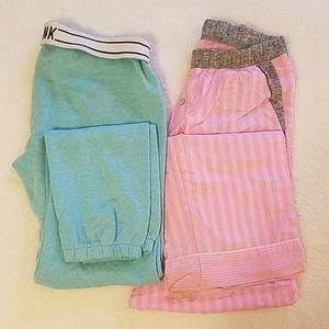Victoria's Secret & pink pajama pant bundle